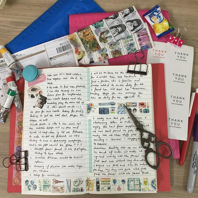 I Had A Thought So Just Wrote Down Without Any Planning On Layout Of Dori Page Just Leave Some Space Travel Journal Pages Scrapbook Inspiration Travel Journal
