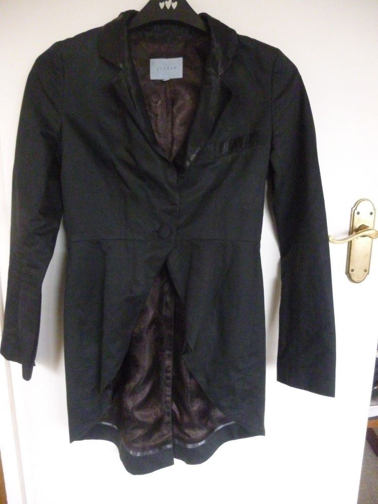 b03a0f2c Ladies Black Tails Jacket by Jigsaw size 10 #Jigsaw | Jacket and ...