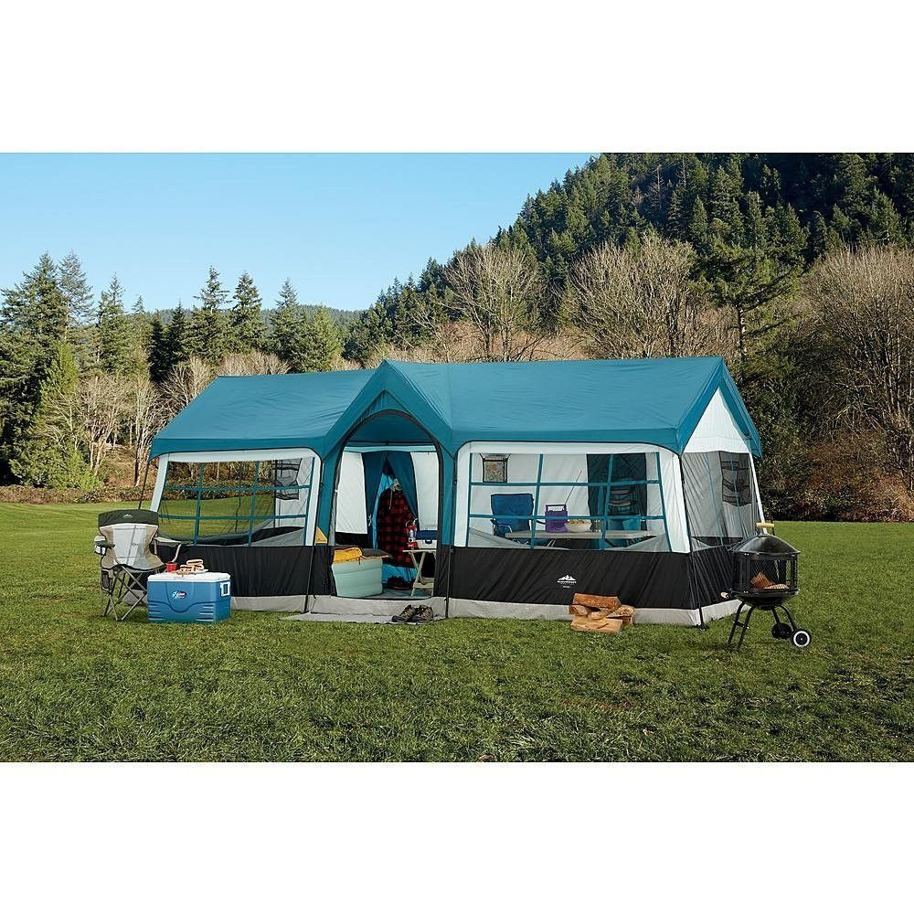 Northwest Territory Grand Canyon 20 X 12 12 Person Tent Feels More Like A House Than A Tent Best Tents For Camping Family Tent Camping Tent Camping