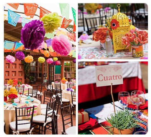 Mexican Themed Wedding Reception: Mexican Wedding - Step By Step