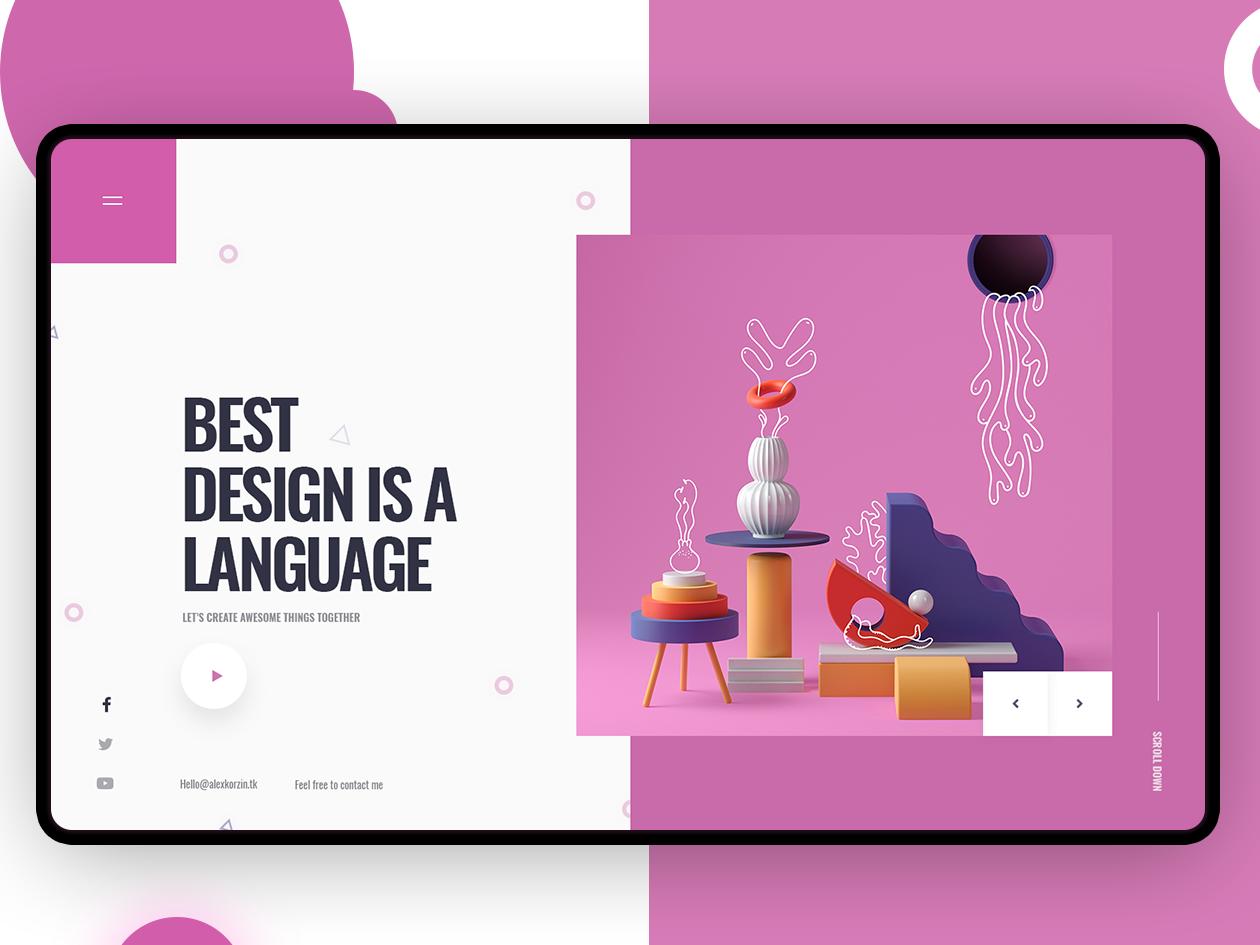 Best Design Is A Language Web Design Quotes Web Design Creative Web Design