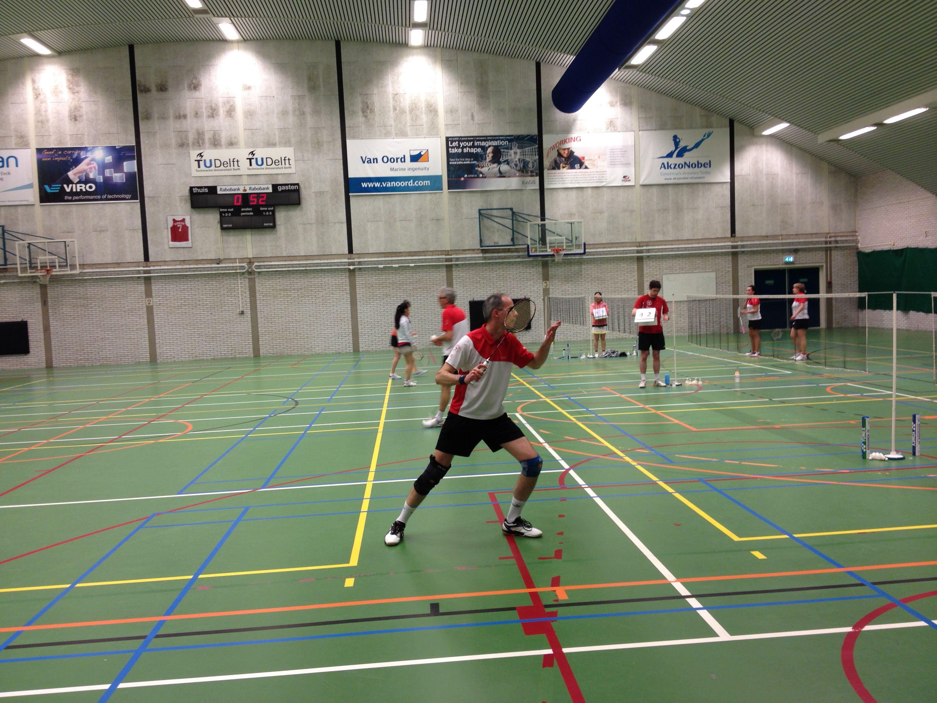 Competitie wedstrijd tegen USSR Delft