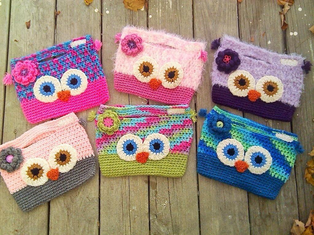 4) Name: \'Crocheting : Owl Handbag | me | Pinterest | Tasche häkeln ...