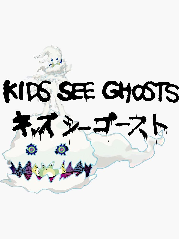 Kids See Ghosts Sticker By C828 Kid Cudi Wallpaper Kid Cudi Kids