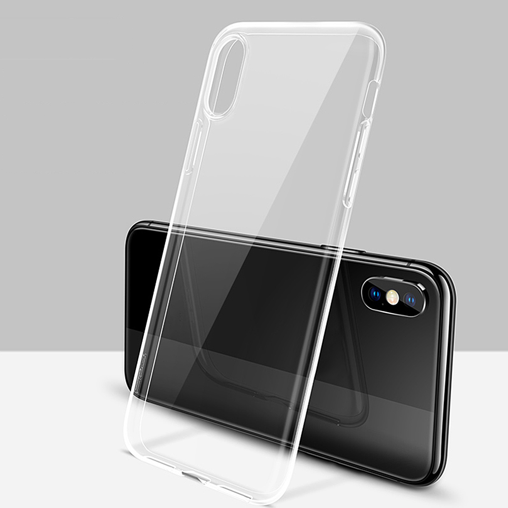 Case For Iphone X 8 7 6 6s Plus Xs Xr Clear Soft Tpu Case Silicone Protective Transparent Cover For Iphone 4 4s 5 5s Back Shell In Fitted Cases From Cellphones