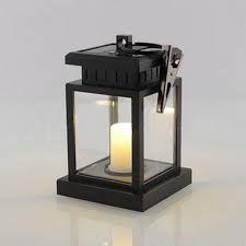 Classic Outdoor Solar Power Yellow LED Candle Light Yard Garden Decoration Tree Lantern Hanging Lamp 101 super deals #101superdeals