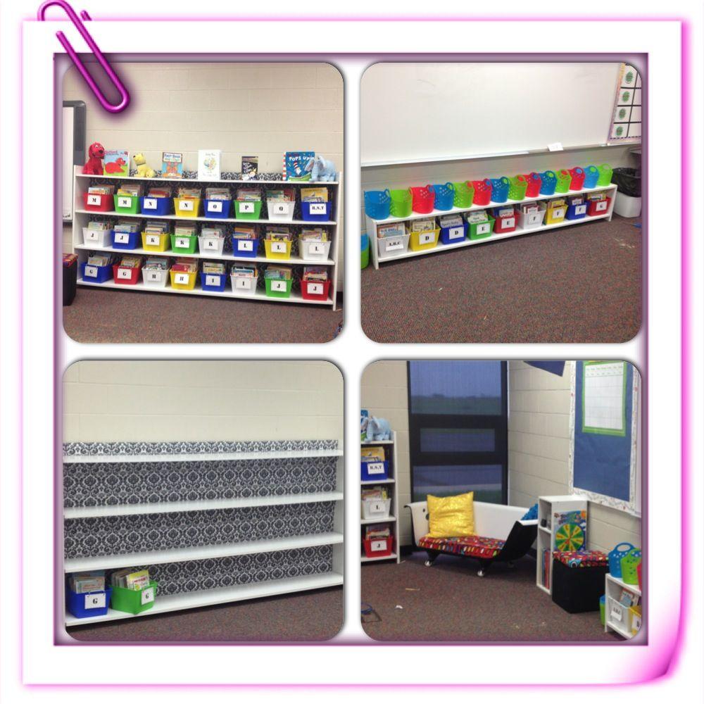 Classroom Bookcase Ideas : New classroom bookshelves reading area for school