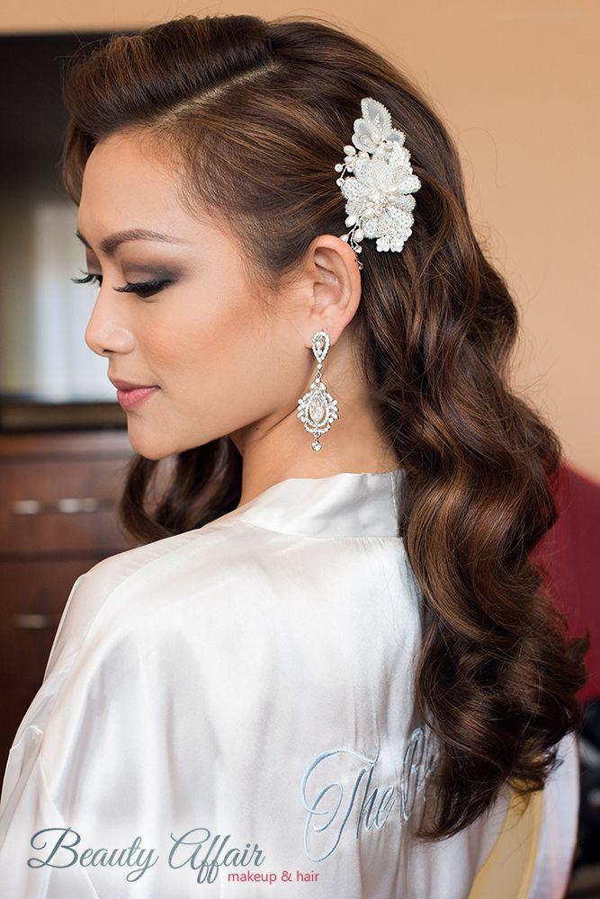 Image result for hollywood glam hair wedding | I hear ...