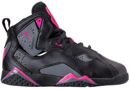 best service 0619f 62b1a Girls' Little Kids' Jordan True Flight Basketball Shoes ...