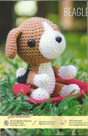 Revista 1 amigurumi | Perro beagle, Amigurumi patrones gratis en ...
