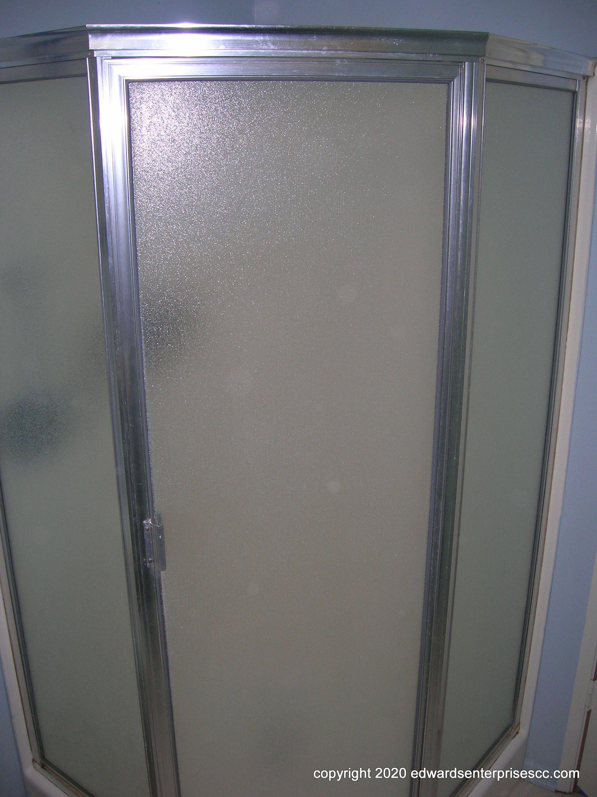New shower doors in 2020   Restroom remodel, Bathrooms ...