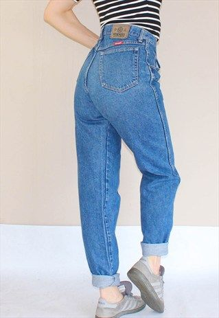 f1e080d641dea Vintage+80 s+Wrangler+High+Waist+Mom+Jeans