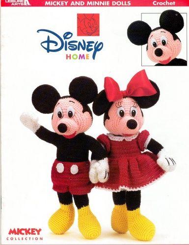 Mickey e Minnie de croche – Rose Valentine – Webová alba Picasa ...