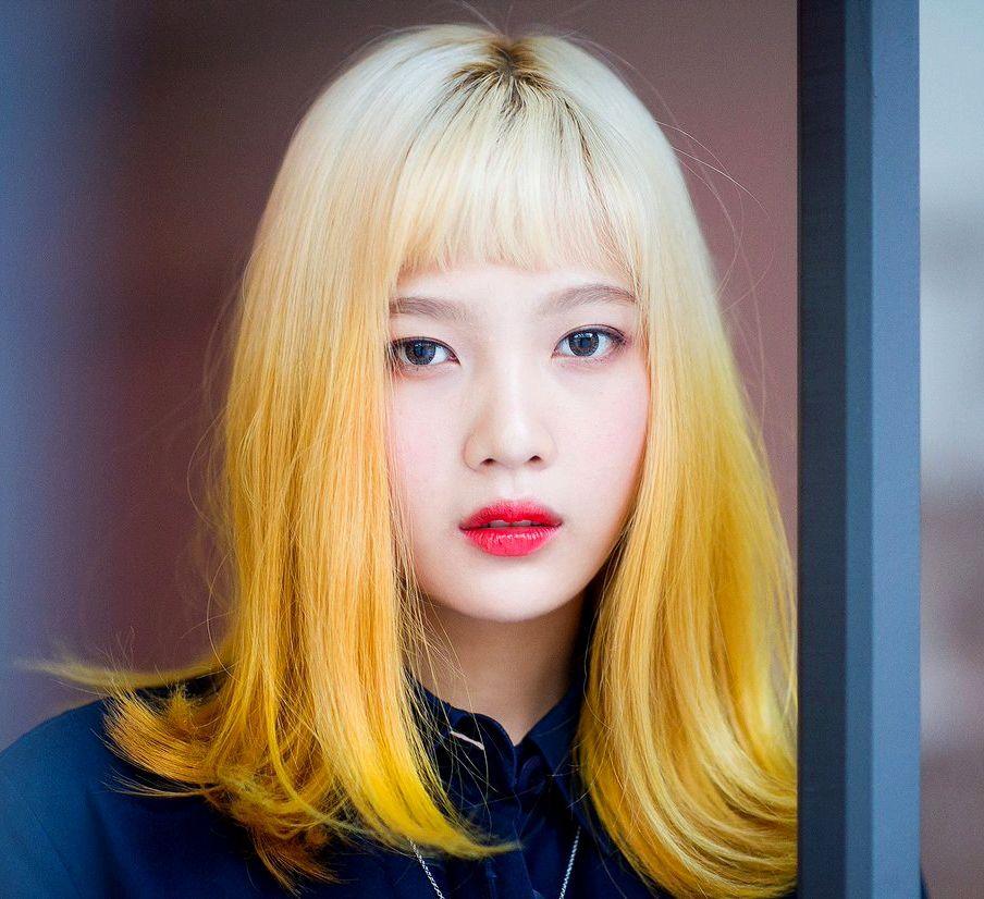 Red Velvet - Joy #reveluv #kpop | Red velvet joy, Hairstyle, Blonde hair