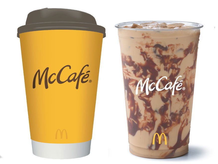 Mcdonalds is giving away free mccafe coffee if you pay