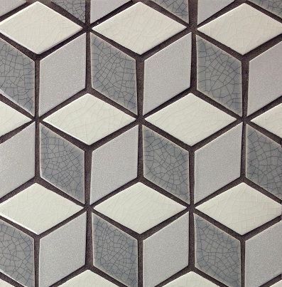 Avente Tile Talk Playing With Pattern In Tile Design Diamond Tile Tile Design Tessellation Patterns