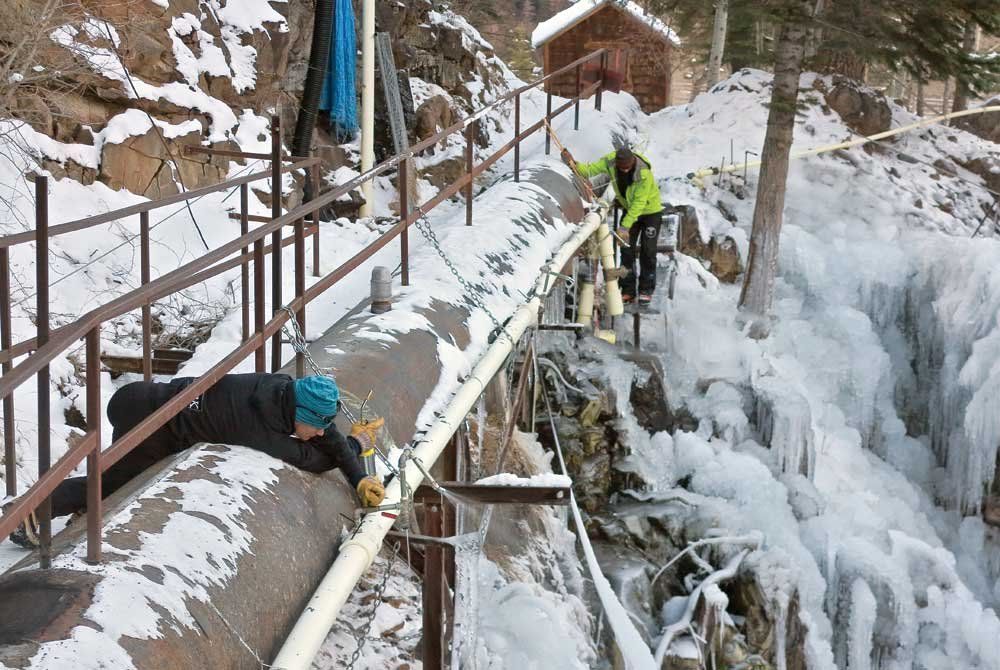 Ice Farmers Grow Fat Crop for Opening Day at Ouray Ice Park by Samantha Wright Dec 05, 2013