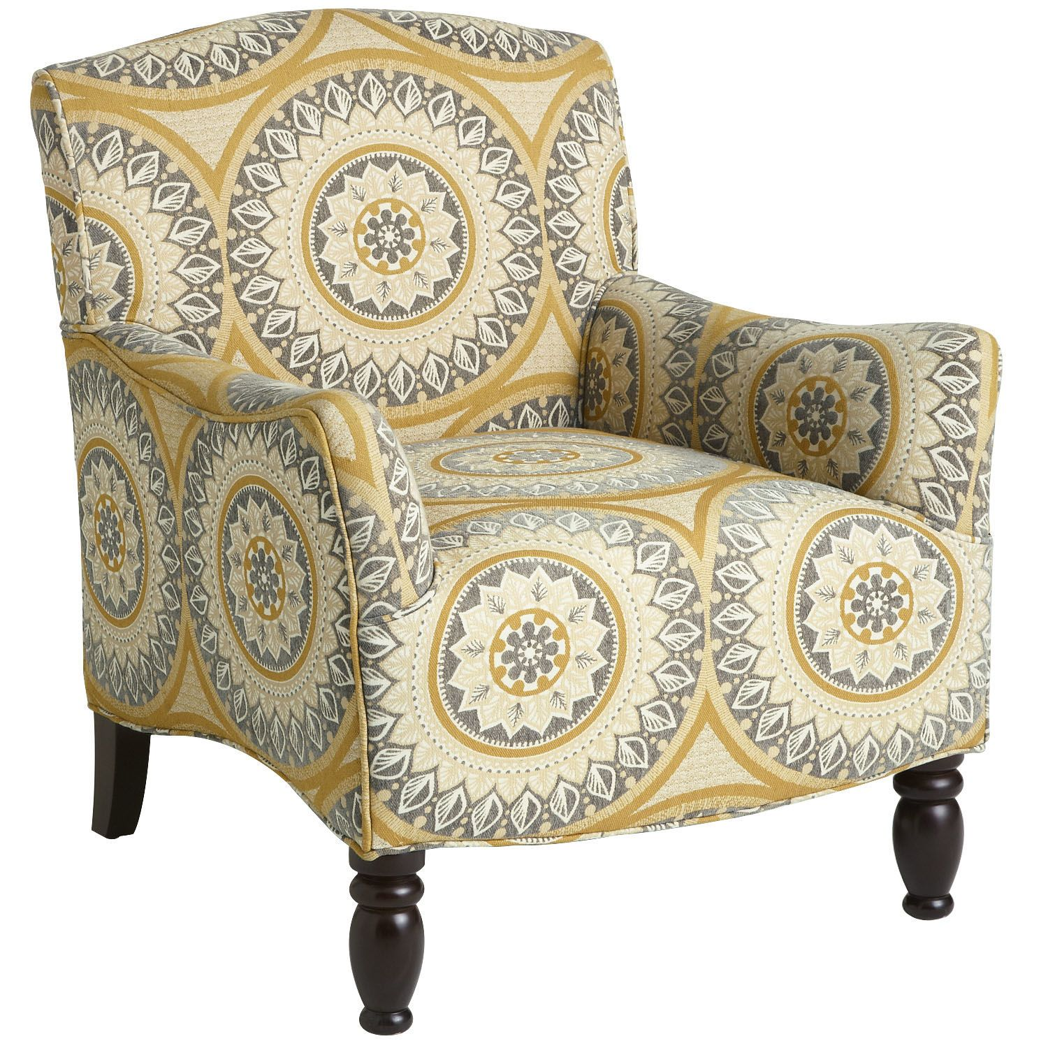 Frankie Armchair   Suzani Gold | Pier 1 Imports · Living Room ChairsLiving  ... Part 50