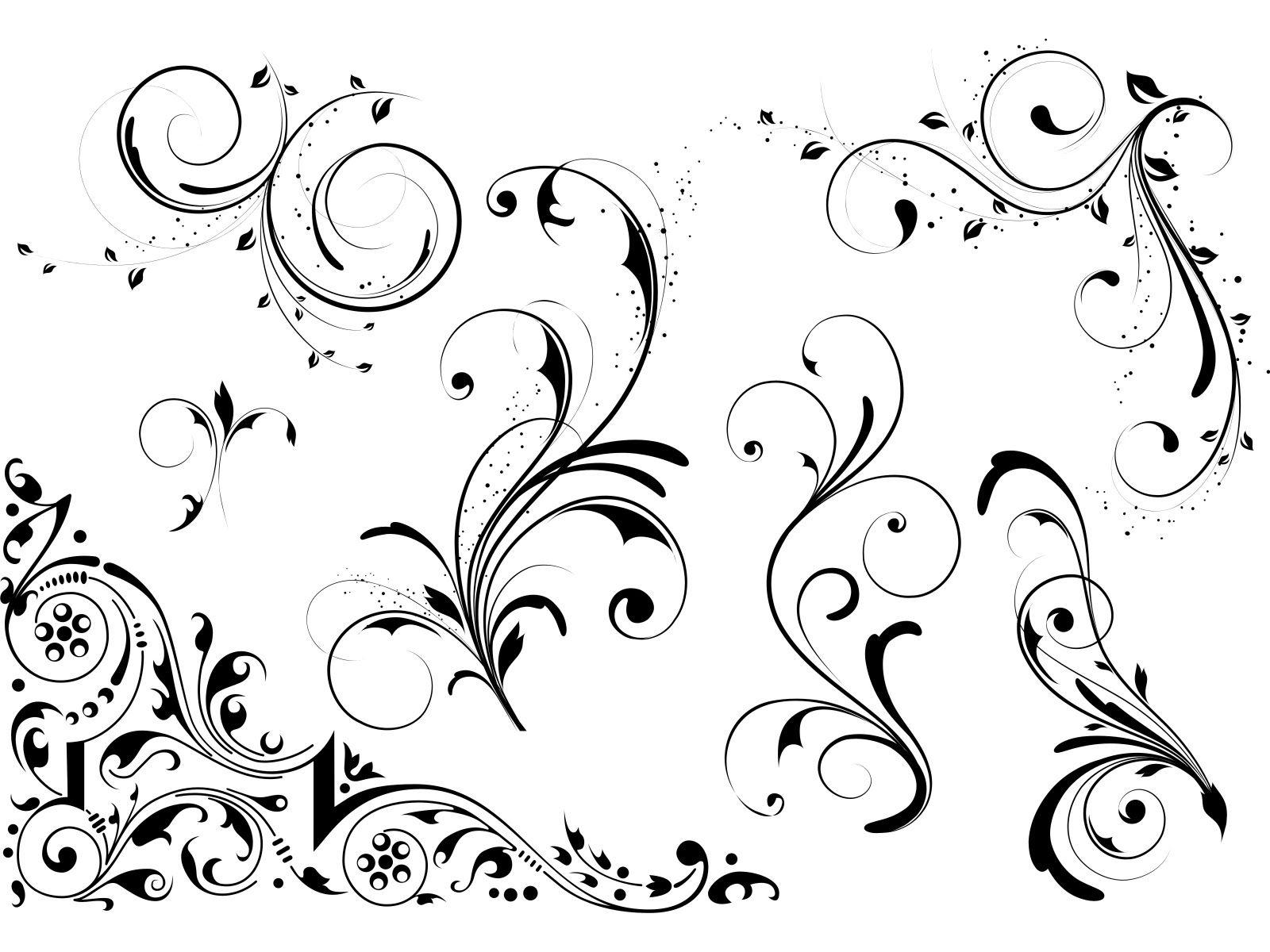 Черно белые открытки вектор, поздравления днем