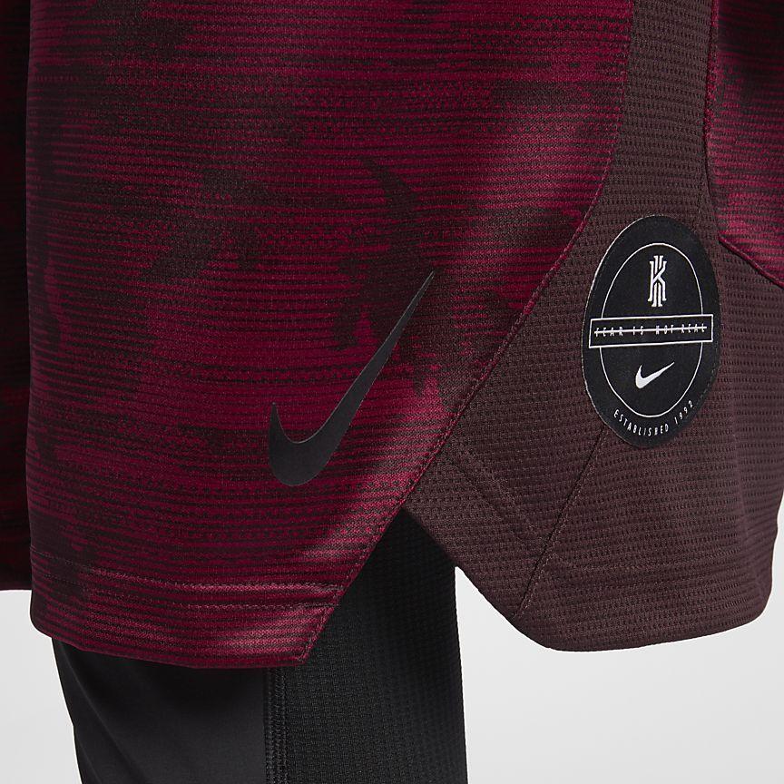 30341e79d3b8 Nike Dri-FIT Elite Kyrie Men s Printed Basketball Shorts