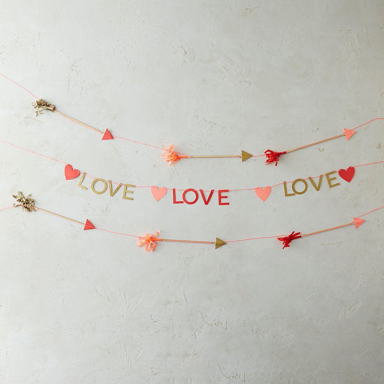 Hearts /& Arrows Garland