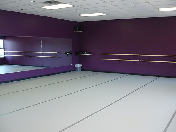 my own dance studio with mirrors and ballet bars hells