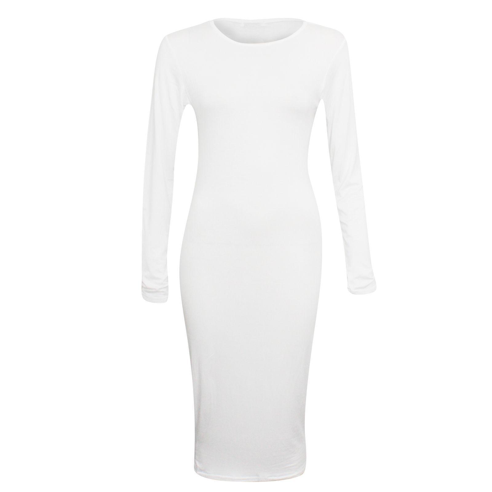 Long sleeve midi dress ebay my best dresses pinterest sleeve