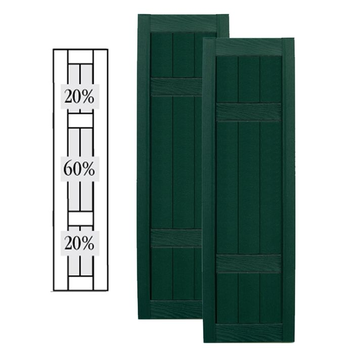 Click Here To View Larger Image Vinyl Shutters Custom Framing Exterior Solutions