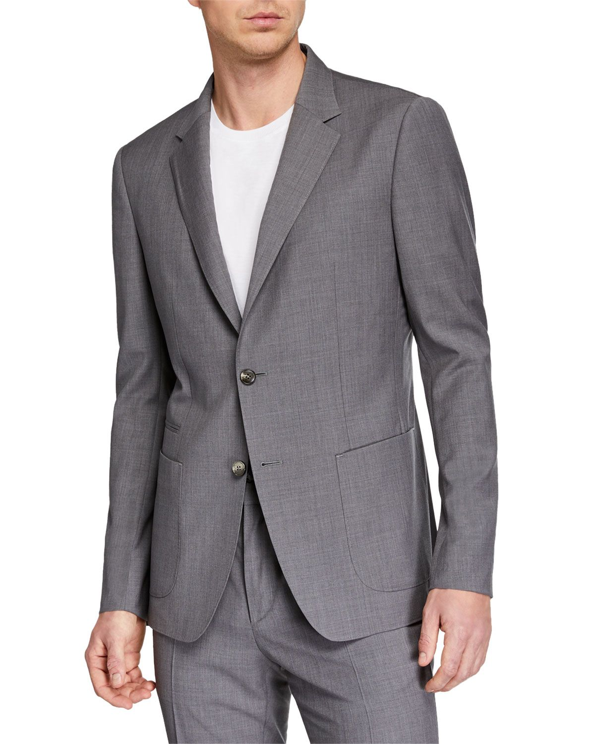 e55f99798aae20 Z ZEGNA MEN'S WASH-AND-GO TWO-PIECE SUIT. #zzegna #cloth | Z Zegna ...