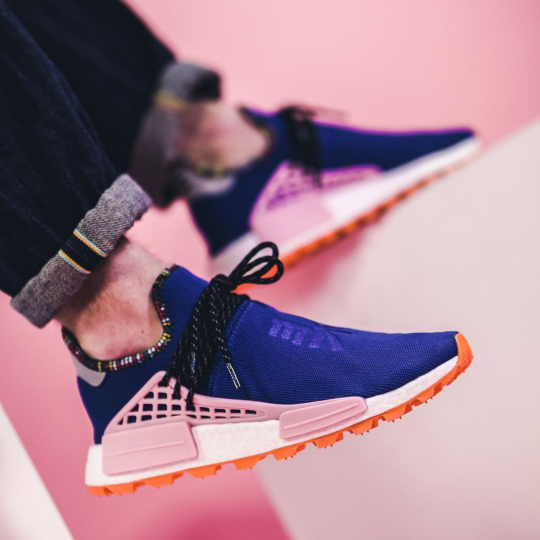 Insidesneakers Adidas X Pharrell Williams Solarhu Nmd Blue