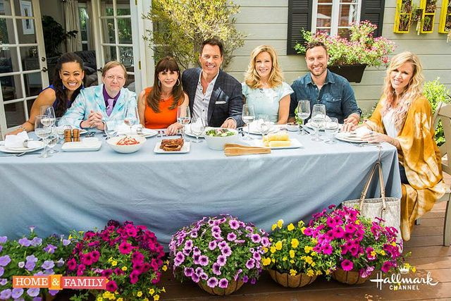 Hallmark Channel Home and Family dining etiquette tips and awkward moments
