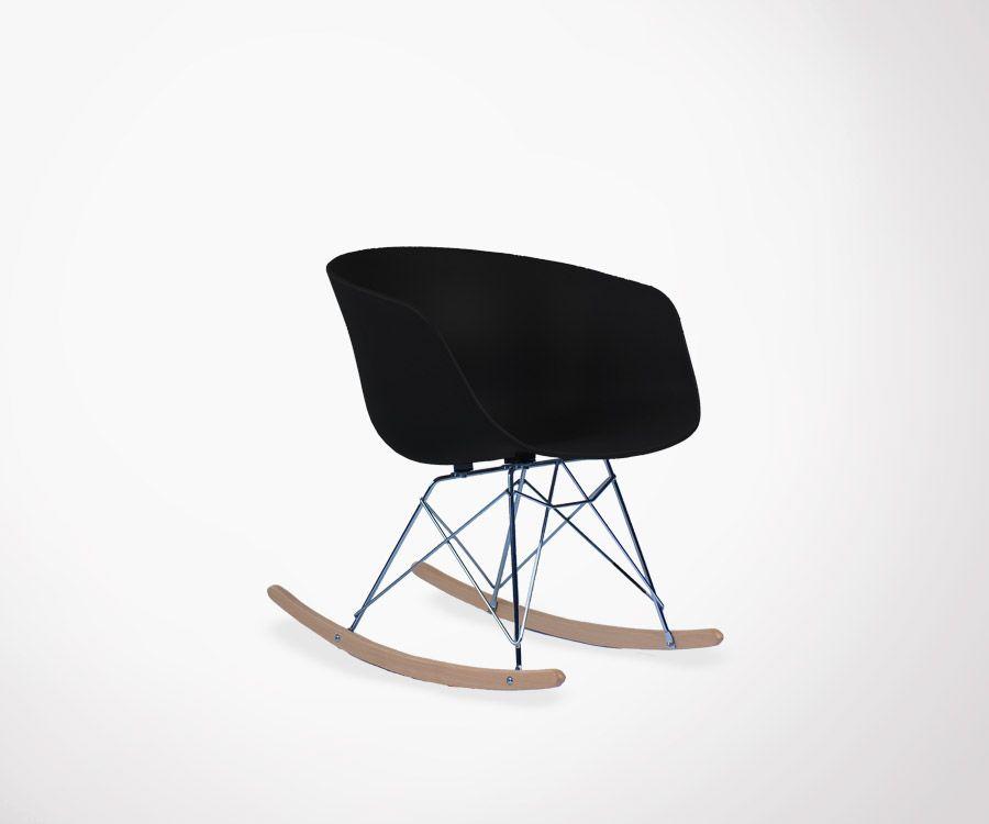 Détente Garantie Avec Le Fauteuil Design Scandinave à Bascule RAY - Fauteuil design charles eames
