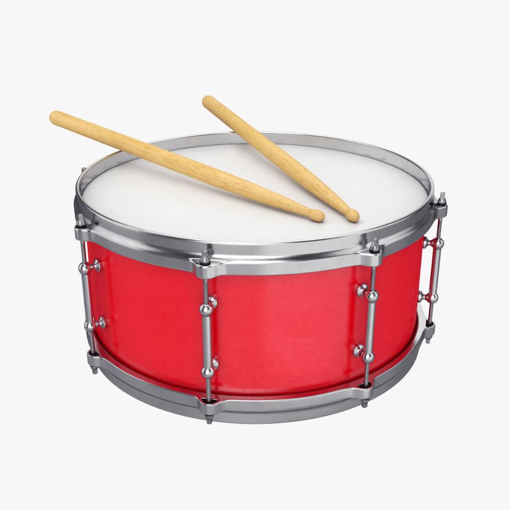 Snare Drum 3d Model Drums Snare Drum Snare