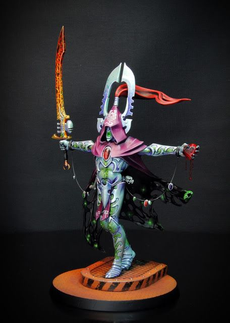 Voici La Figurine Sur Laquelle Jai Travaill Ces Dernires Semaines Il Sagit Dune Conversion DAvatar De Khai