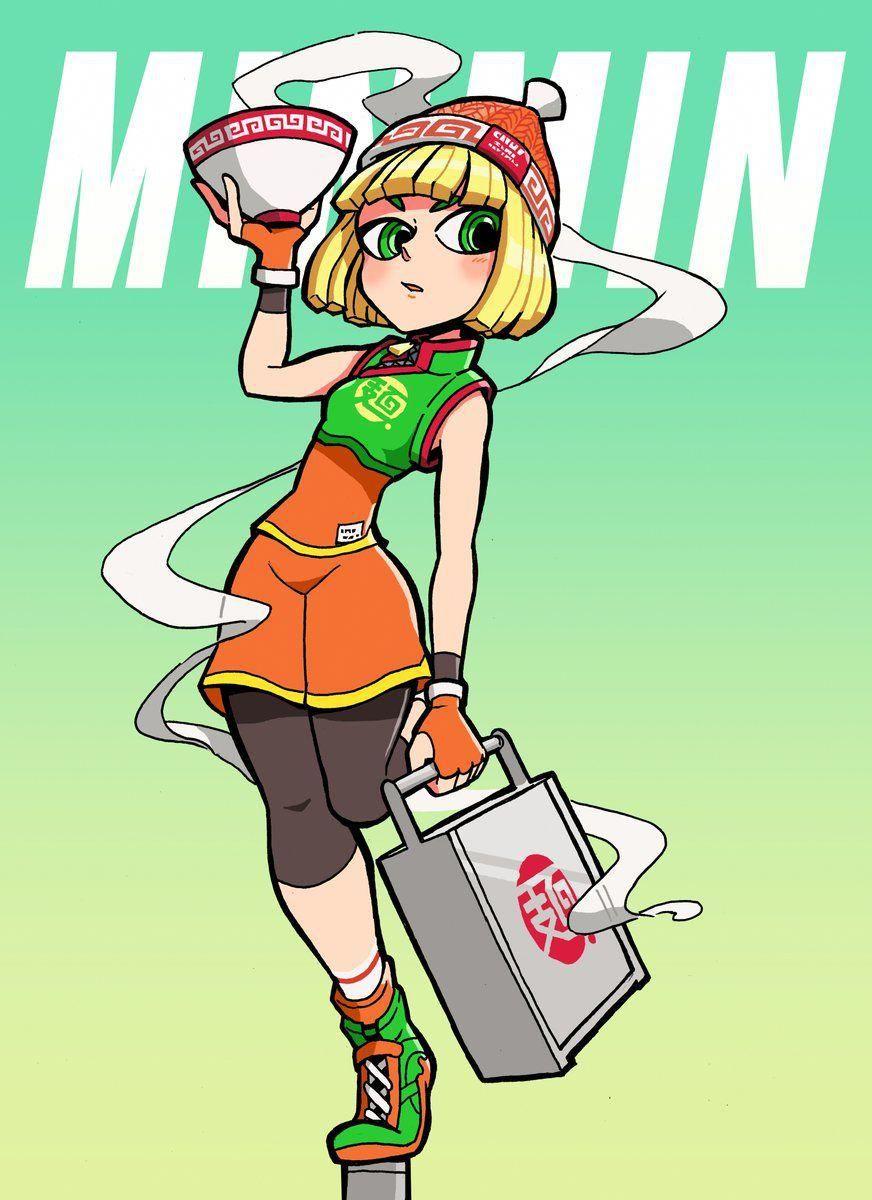 Arms nintendo switch nintendoswitch character art kid