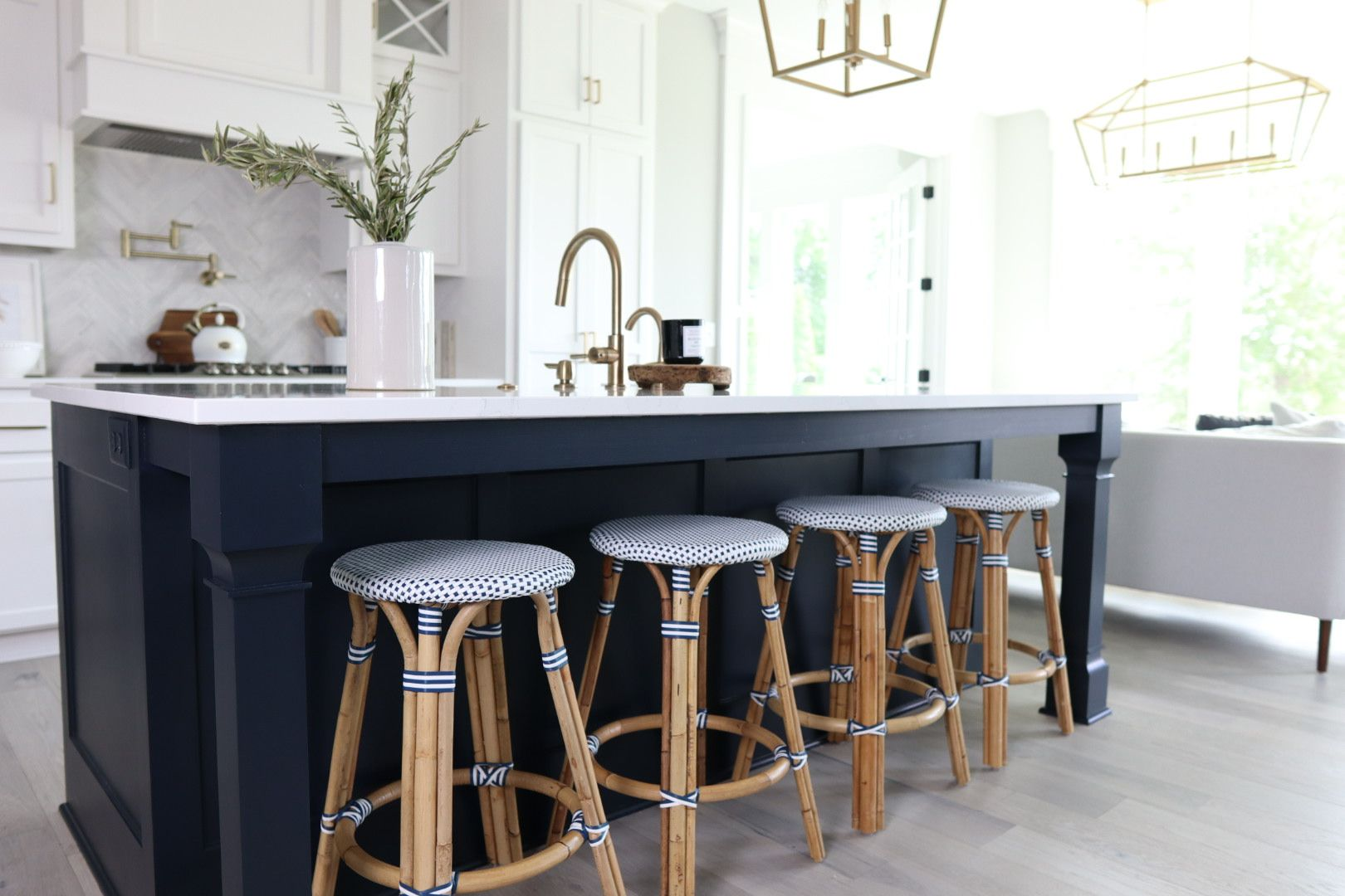 Best Navy Color For Kitchen Island