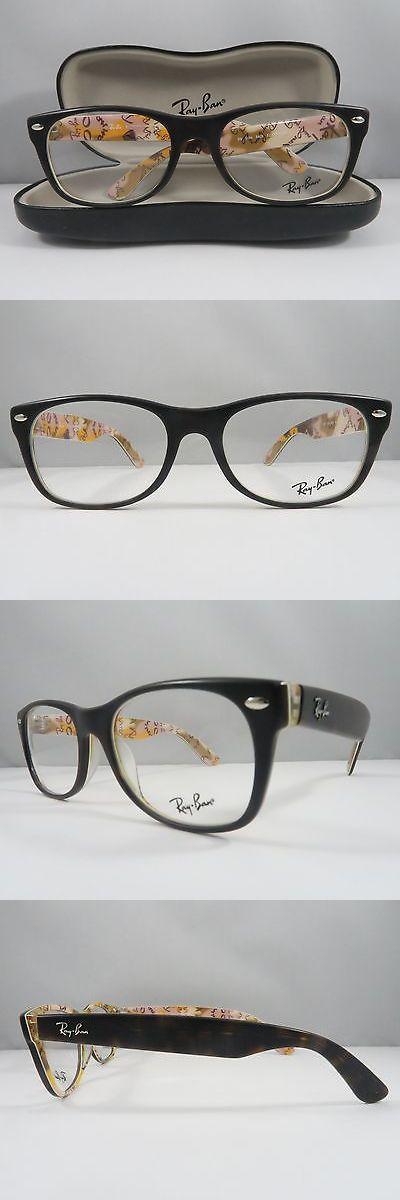 88f77496c9d Eyeglass Frames  Ray-Ban Rb 5184 5409 Matte Havana Logo New Authentic  Eyeglasses 52Mm