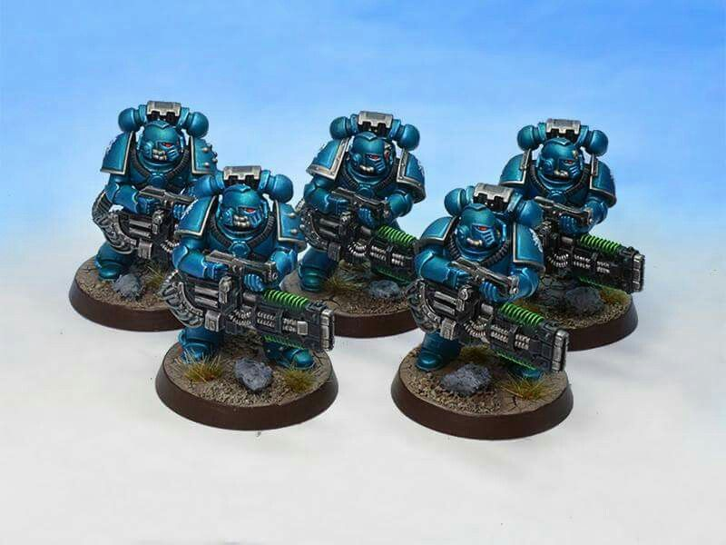Alpha Legion Pre Heresy Painting Guide Metallic