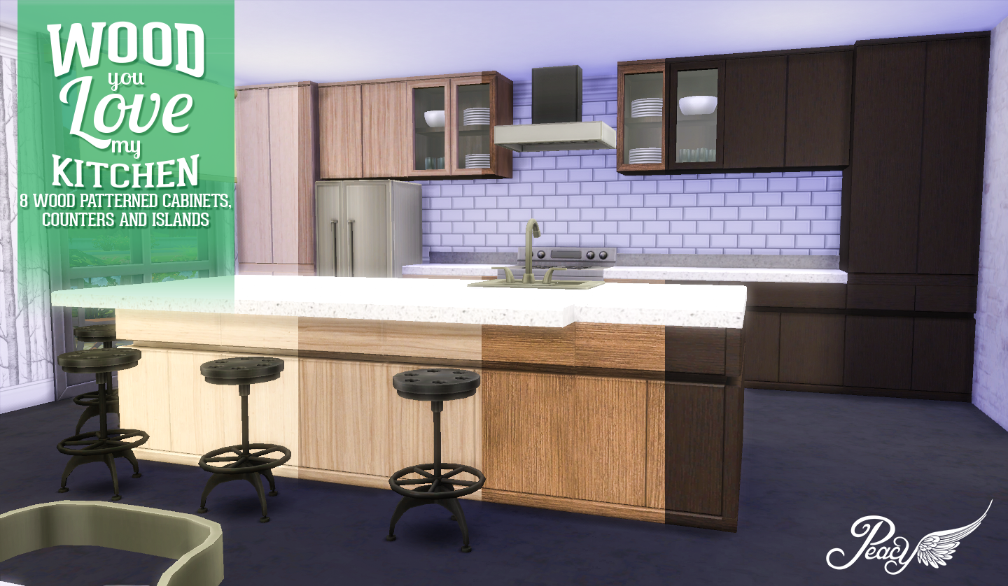 Simsational Designs: Wood You Love My Kitchen