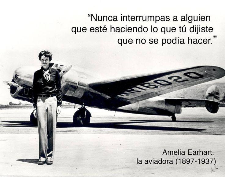 Frases De Aviacion Buscar Con Google Amelia Earhart