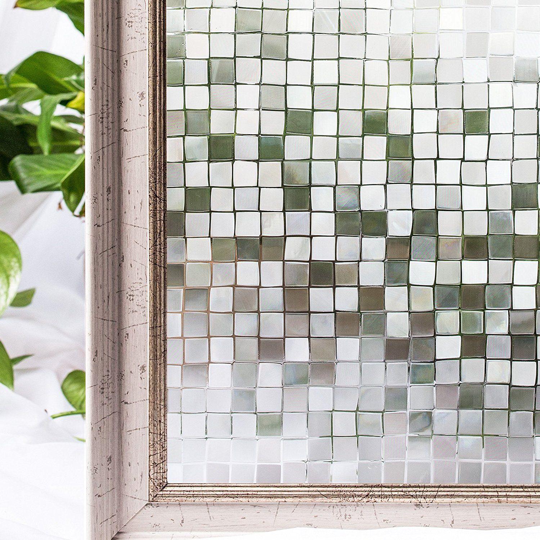 Amazon Cottoncolors コットンカラーズ 3d窓用フィルム 浴室目隠し