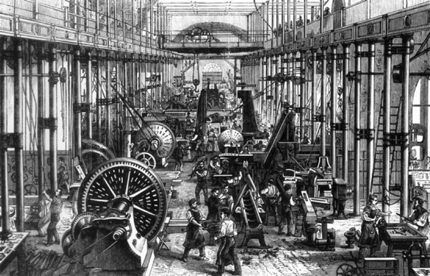Revolution Textile Worker Industrial Factory