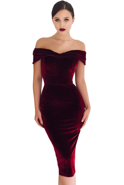 40+ Velvet cocktail dress ideas