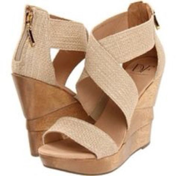8a7082fbd3bd8 Dvf Opal Wedge Tan | Look at Her Wedges | Shoes, Fashion, Wedge shoes