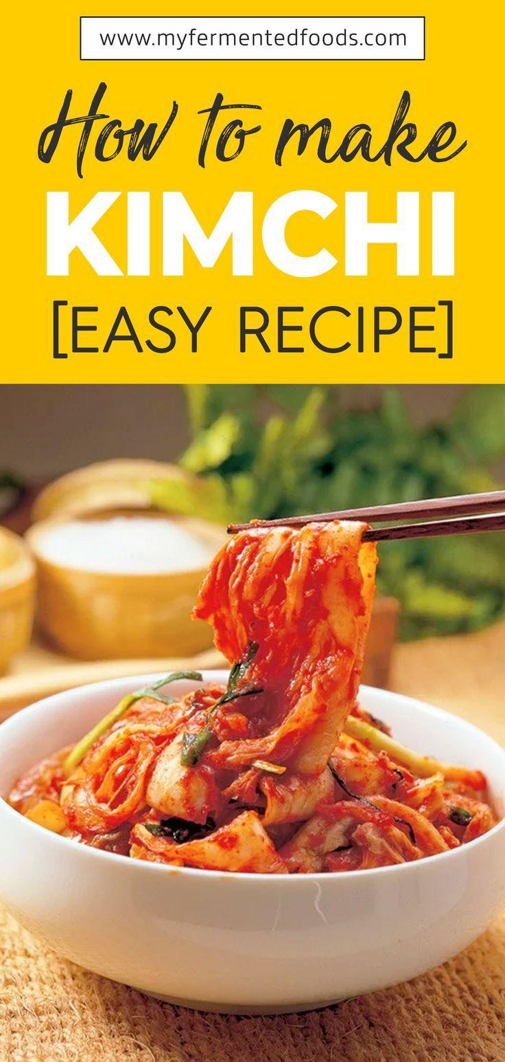 How to make kimchi easy kimchi recipe my fermented