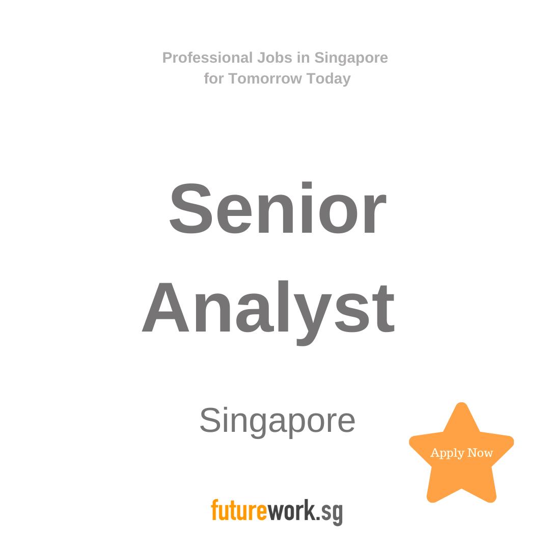 Senior Analyst Secondary Source Linkedin Job Analyst