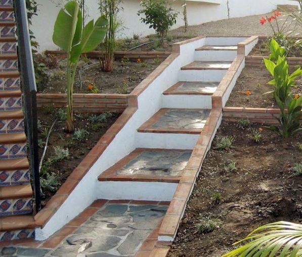 gartentreppe ideen - Fantastisch Vorgarten Ideen