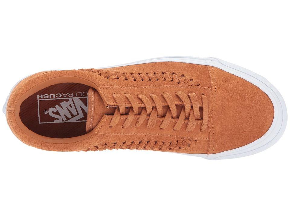 Vans UA Old Skool Weave DX Shoes Glazed Ginger Suede  b5136c5aa