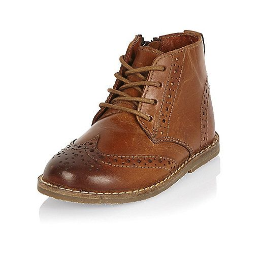 Brogue boots, Baby boy shoes