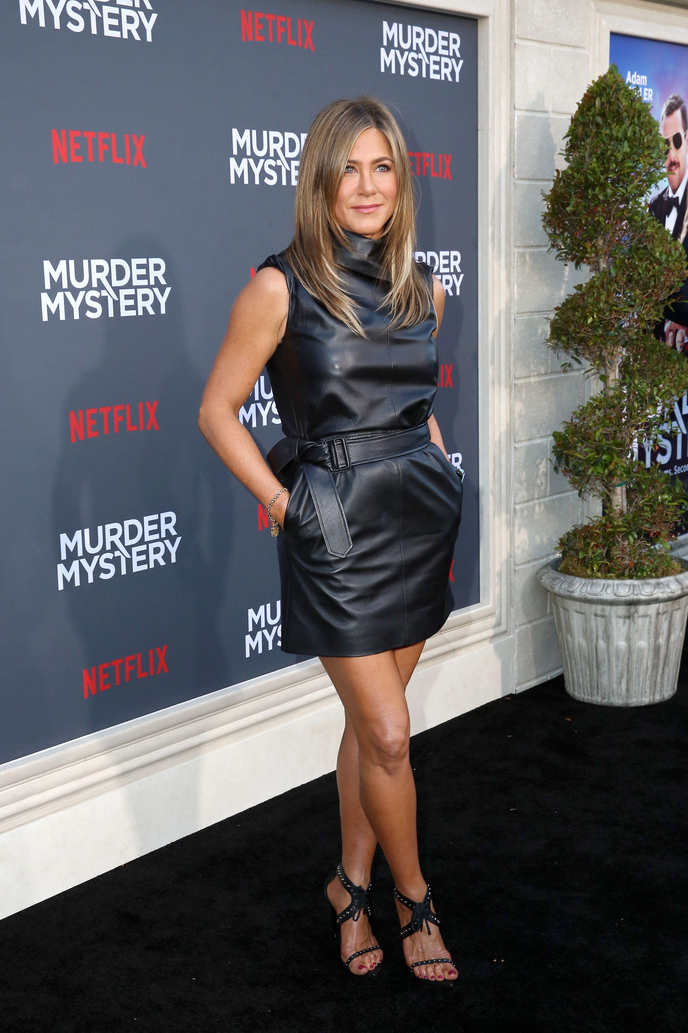 Stile Rock i migliori outfit Jennifer aniston, Vestito